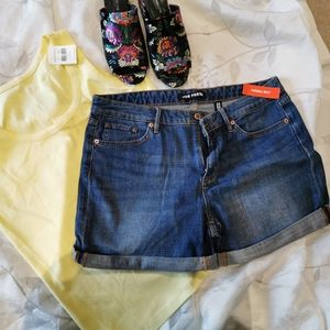 Joe Fresh Jean Shorts
